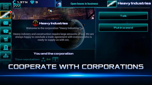Idle Space Business Tycoon Apkfinish screenshots 3