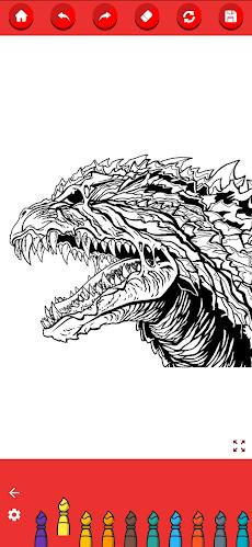Coloring Godzilla : King of the Monstersのおすすめ画像2
