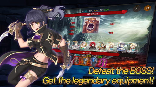Secret Tower VIP (Super fast growing idle RPG) android2mod screenshots 8