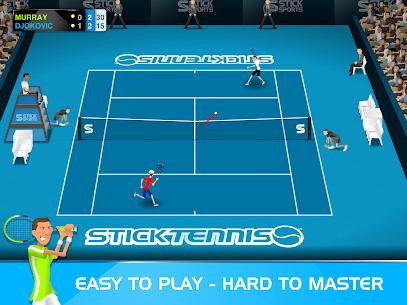 Stick Tennis MOD APK 2.9.3 (Unlocked Rackets) 6