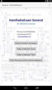 HamRadioExam - General