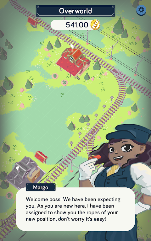 Train Station Idle Tycoon  poster 23