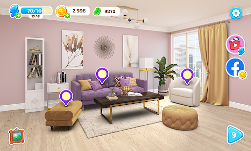 Color Home Design Makeover - paint your love story  screenshots 10
