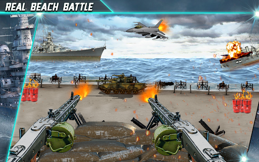 Call of Beach Defense: FPS Free Fun 3D Games  screenshots 1