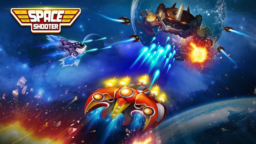 Space shooter - Galaxy attack - Galaxy shooter poster 7