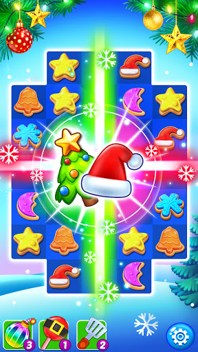 Christmas Cookie - Santa Claus's Match 3 Adventure 3.2.6 screenshots 1