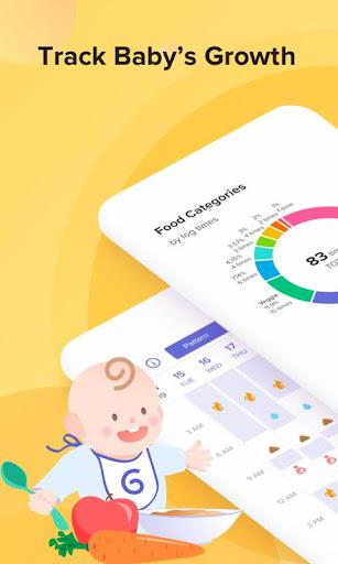 GLOW. Baby Tracker & Feeding, Diaper, Sleep Log 3.10.2 Screenshots 2