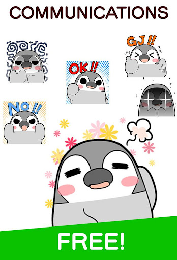 Pesoguin Stickers android2mod screenshots 2
