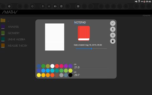 Ink&Paper Handwrite PDF Notes Trial apktram screenshots 10