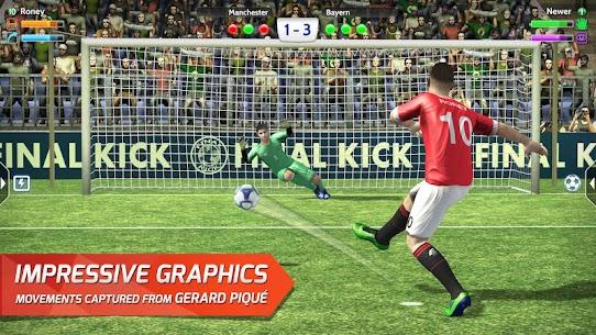 Final kick 2020 Best Online football 9.1.4 MOD APK  [ALL MODED] 1