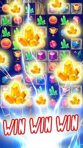 jewels adventure bomb: sweet heroes screenshot 2