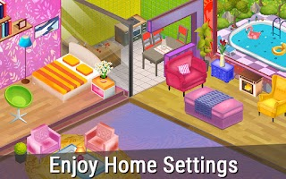 Design My Home 3D - House Flipper, Color by Number