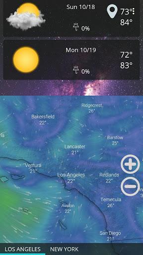 Weather forecast & transparent clock widget  Screenshots 4