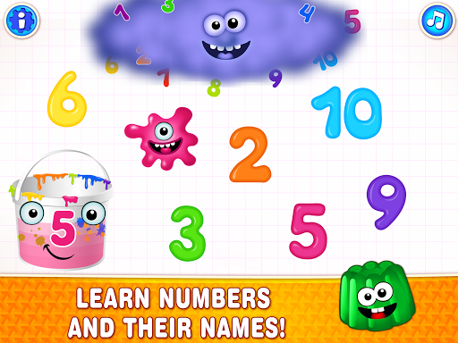 Learning numbers for kids! Writing Counting Games! apkslow screenshots 8