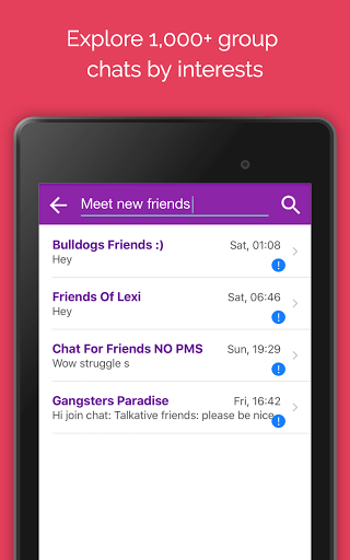 Anonymous Chat Rooms, Dating App 7.015 Screenshots 4