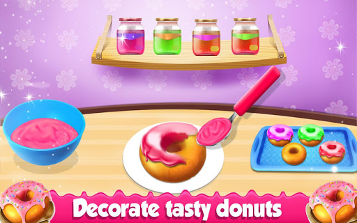 Donuts Factory Game : Donuts Cooking Game 1.0.3 screenshots 8