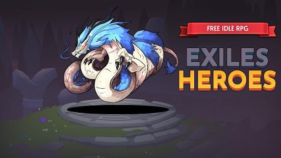 Exiles Heroes - Free Idle RPG 1.0.5 screenshots 1