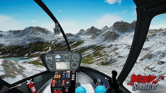 Helicopter Simulator 2021 MOD APK 1.0.1 (Unlocked Helicopter/Levels) 6