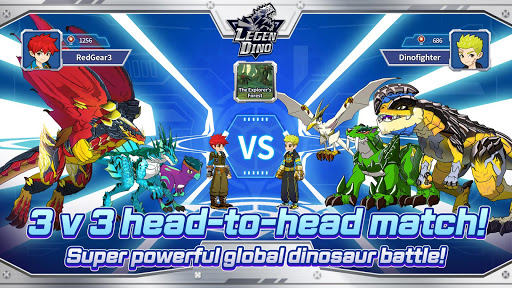 Legendino: Dinosaur Battle Varies with device screenshots 10