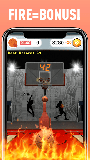 Basketball: Fast, Fun, Free android2mod screenshots 3