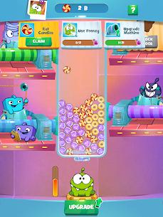 Om Nom Idle Candy Factory Mod Apk 0.14 (Free Shopping) 2