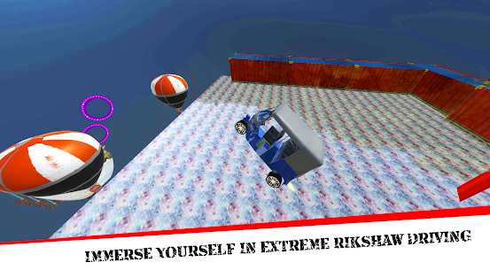 Mega Rikshaw Extreme Impossible Stunts 3D For Android 4