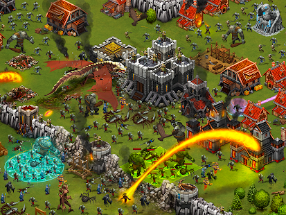 Throne Rush Screenshot