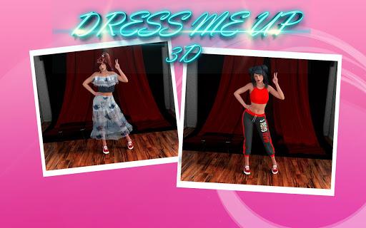 Dress me up 3D apklade screenshots 1