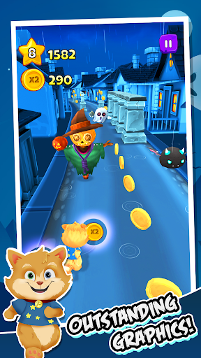 Toon Math: Endless Run and Math Games 1.9.5 screenshots 1