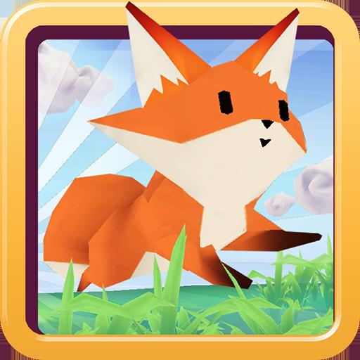Animalo Run 3d : Fox, Hedgehog, Rabbit, Mole