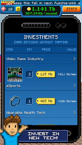 Bitcoin Billionaire - Fake Bitcoins, Real Fun apktram screenshots 6