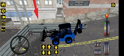 Excavator Jcb City Mission Simulator android2mod screenshots 11