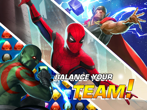 MARVEL Puzzle Quest: Join the Super Hero Battle! screenshots 10