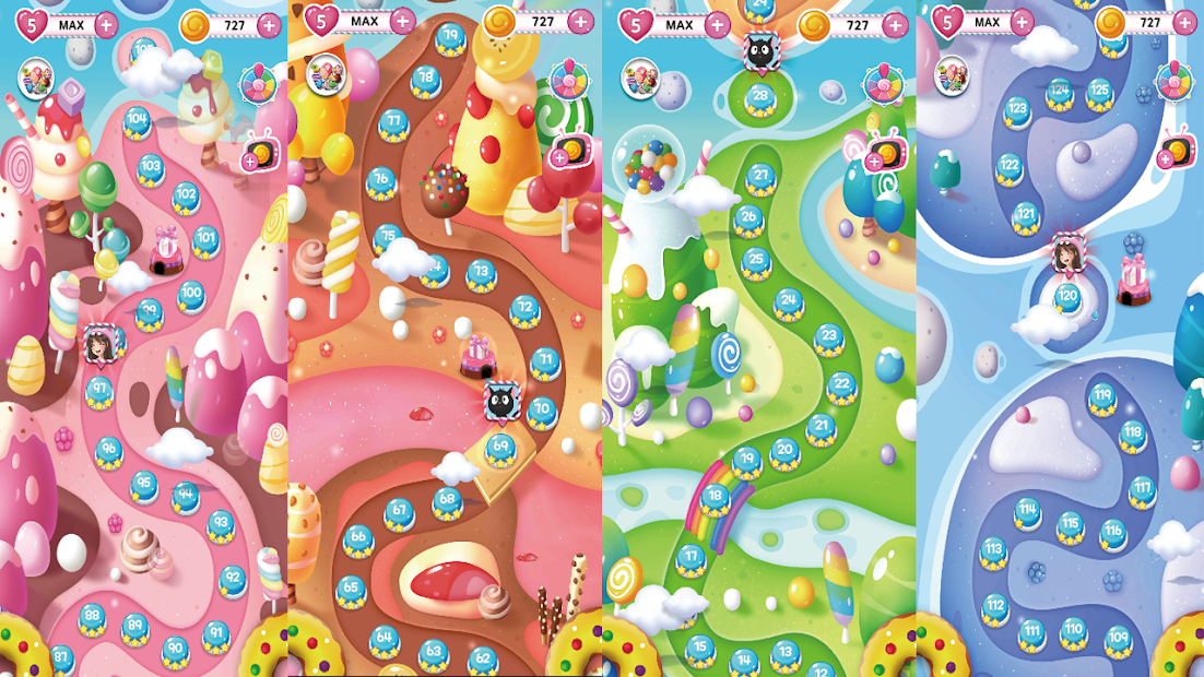 Candy Joy : Jelly Bear screenshot 1