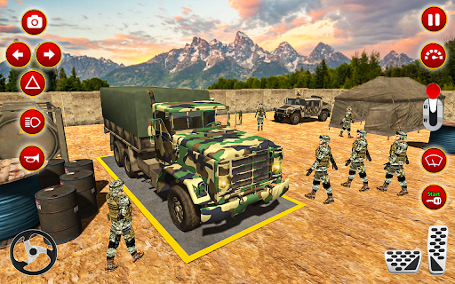 Army Truck Driver transport US Military Games 2021 screenshots 5