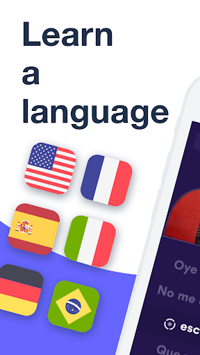 Learn Languages free with Music. Spanish & French 2.1.0 screenshots 1