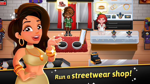 Télécharger Hip Hop Salon Dash - Fashion Shop Simulator Game APK MOD (Astuce) screenshots 1