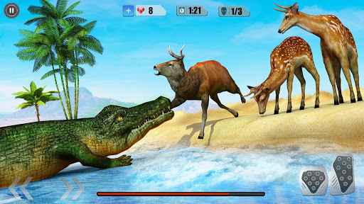 Angry Crocodile Simulator - Real Animal Attack Latest screenshots 1
