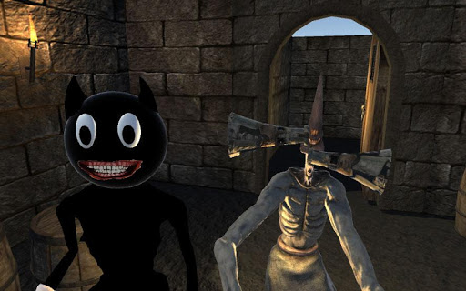 Real Joy Cartoon Cat and Light Head Night  screenshots 1