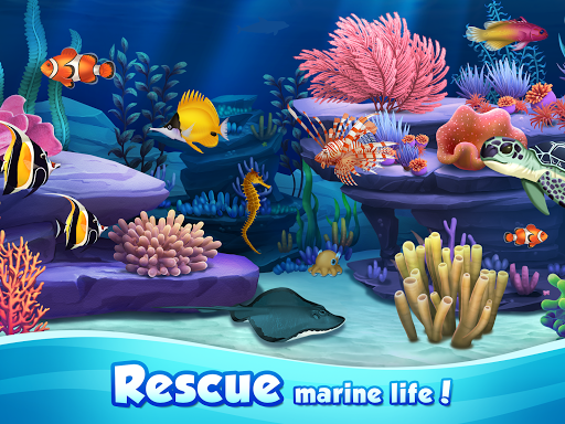 Aqua Blast: Fish Matching 3 Puzzle & Ball Blast 1.4.2 screenshots 7