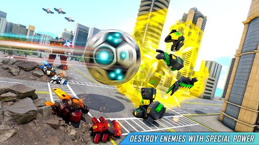 Football Robot Car Game: Muscle Car Robot  screenshots 2