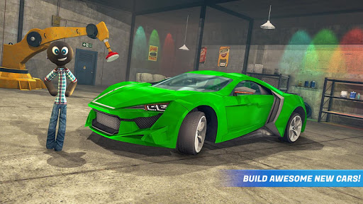 Stickman Car Garage Repair Shop  screenshots 5