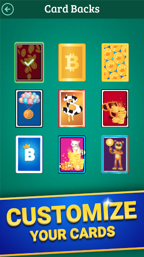 Bitcoin Solitaire - Get Real Free Bitcoin! android2mod screenshots 5