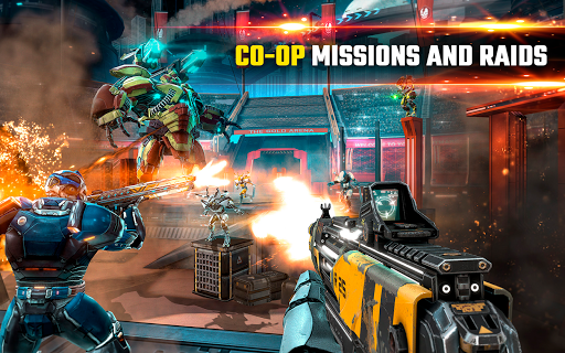 SHADOWGUN LEGENDS - FPS and PvP Multiplayer games apkpoly screenshots 14