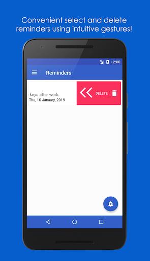 My Reminders - UniReminders 1.1.5 Winter Screenshots 4