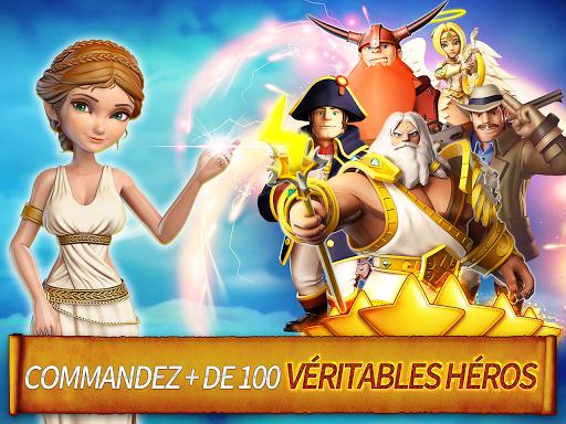 Télécharger gratuit Hero Sky: Guerres de Clan APK MOD 1