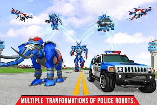 Police Elephant Robot Game: Police Transport Games 1.0.9 Screenshots 2