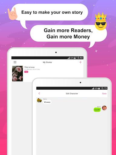 Joylada - Read All Kind of Chat Stories apktram screenshots 11