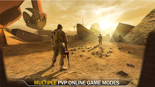 Code of War: Online Gun Shooting Games apkslow screenshots 16