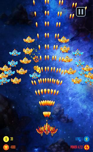 Chicken Shooter Galaxy invaders 1.1 screenshots 4